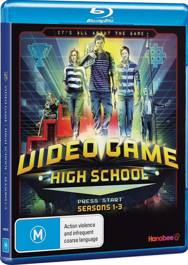 Video Game High School; S1-S3 | Blu-ray