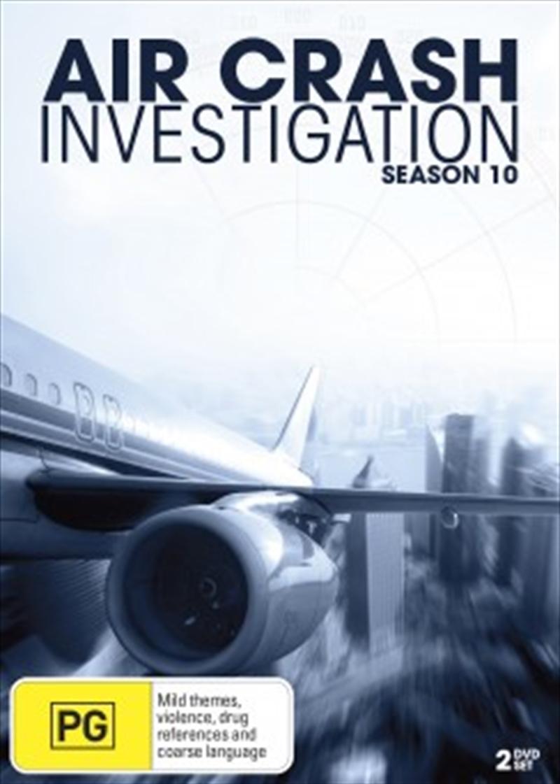 Air Crash Investigations; S10 | DVD