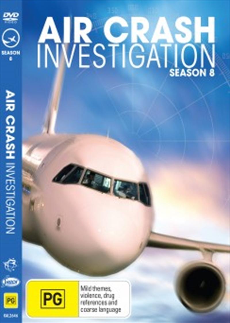 Air Crash Investigations; S8 | DVD