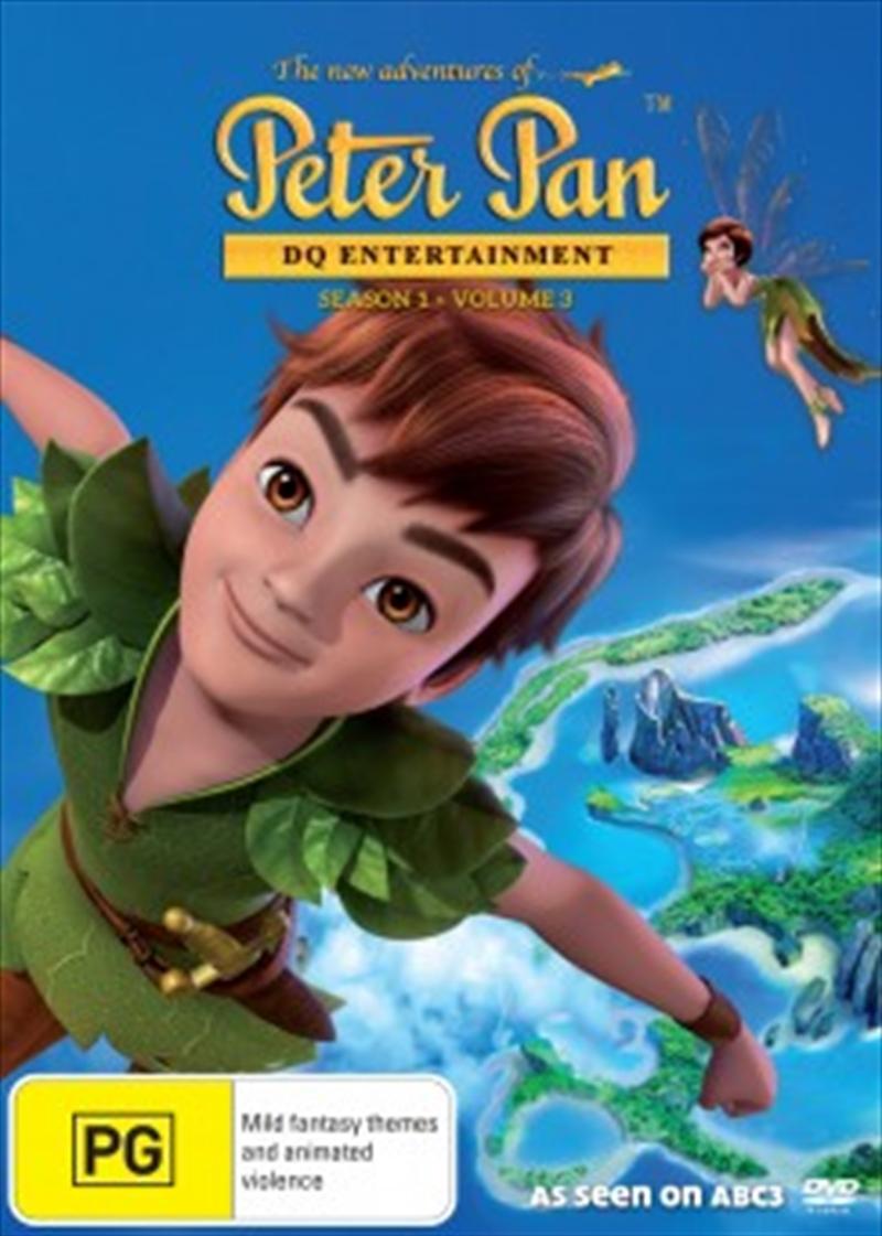 Peter Pan New Adventures S1 V3   DVD