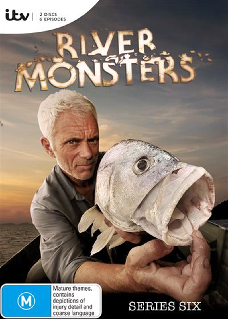 River Monsters - Season 6 | DVD