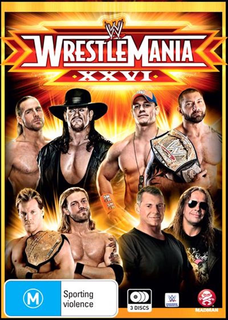 WWE - Wrestle Mania 26 | DVD