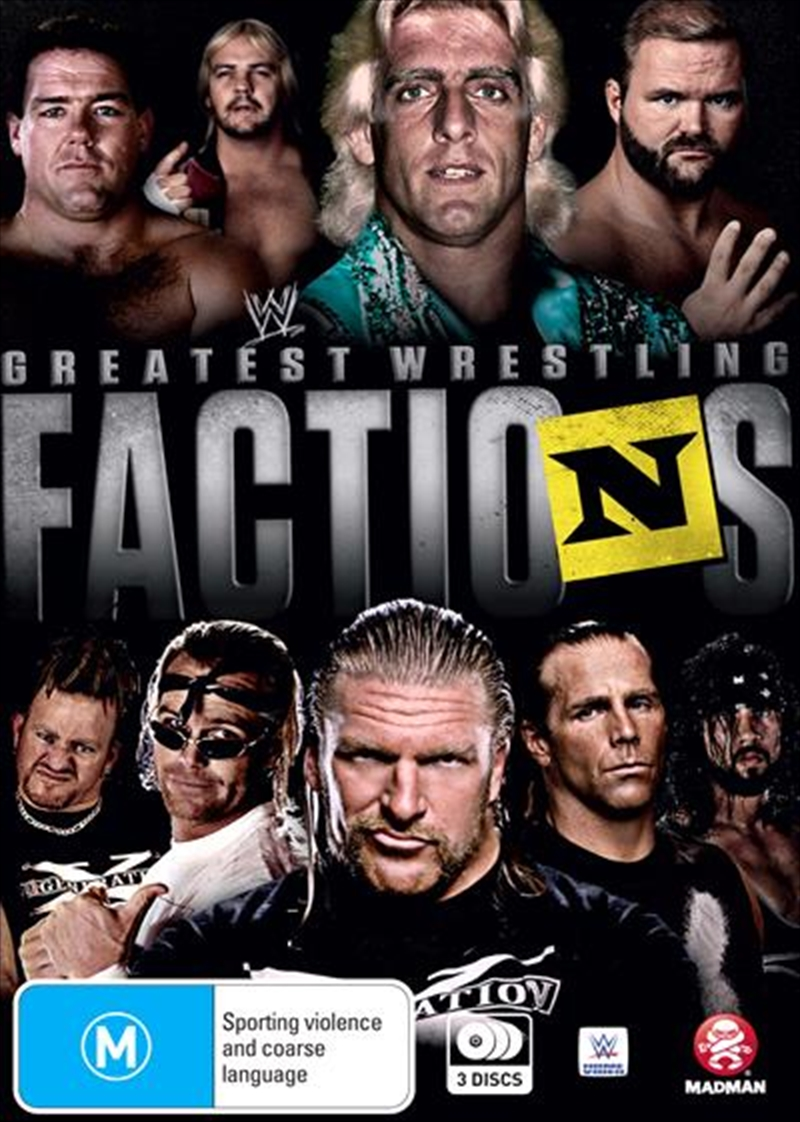 WWE - Wrestling's Greatest Factions | DVD