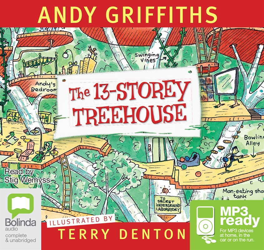 13 Storey Treehouse | Audio Book