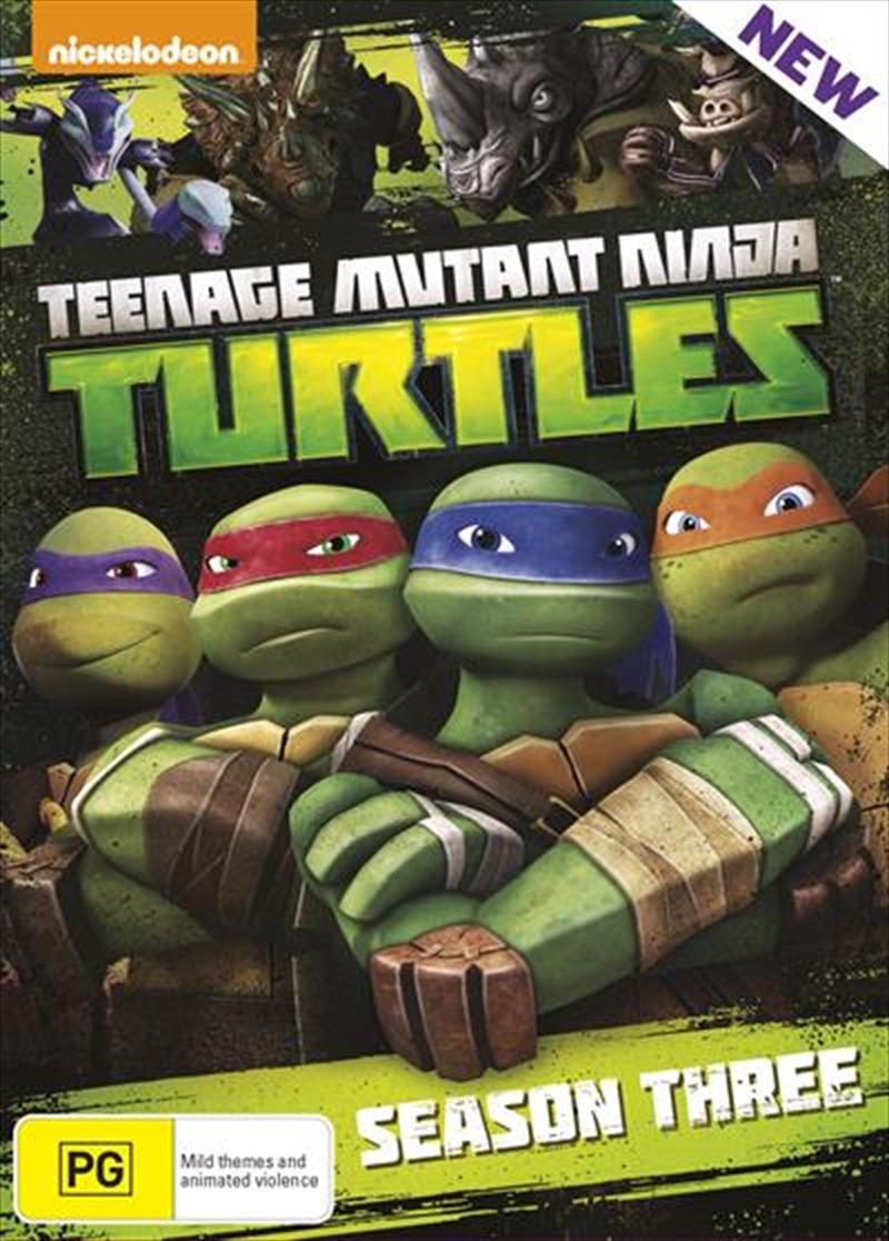 Teenage Mutant Ninja Turtles - Season 3 | Boxset | DVD