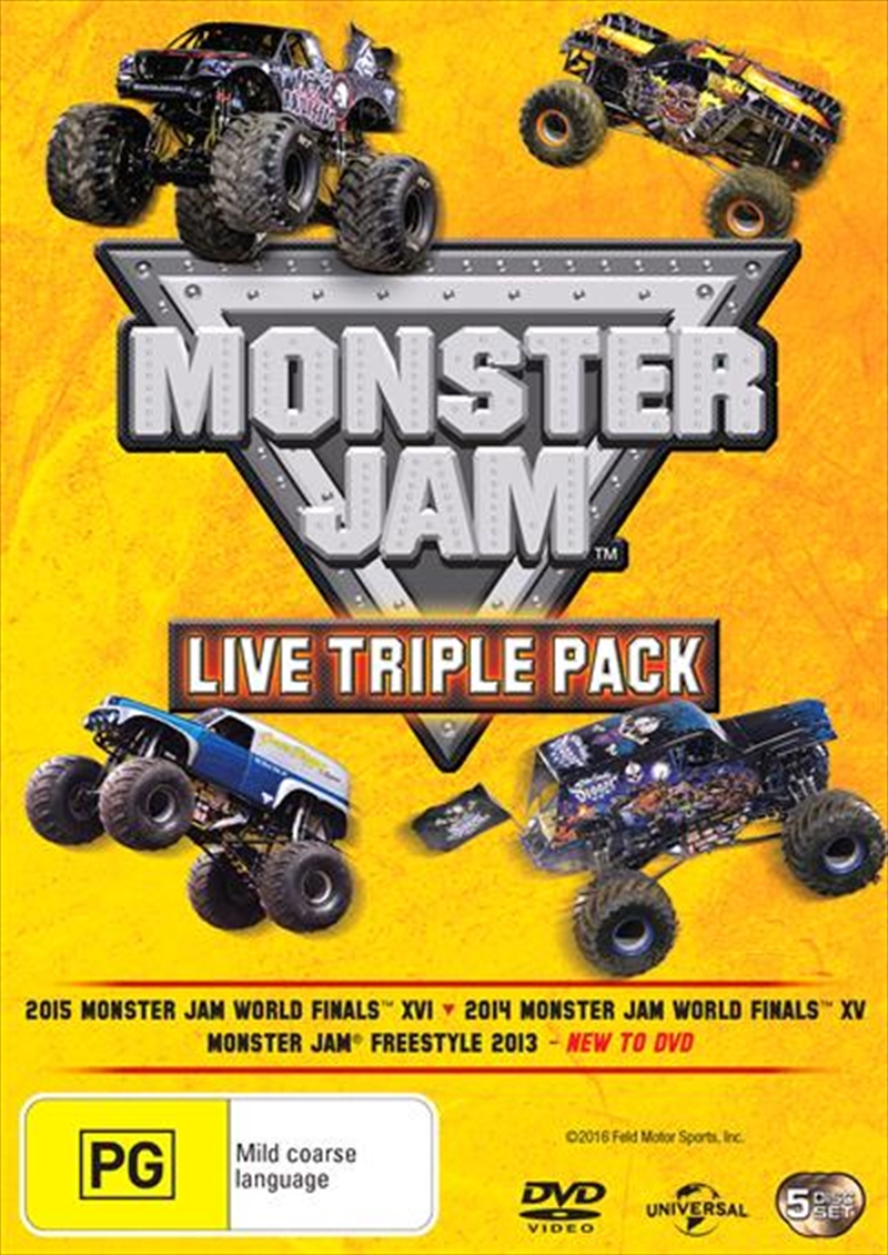 Monster Jam - Live | Triple Pack | DVD