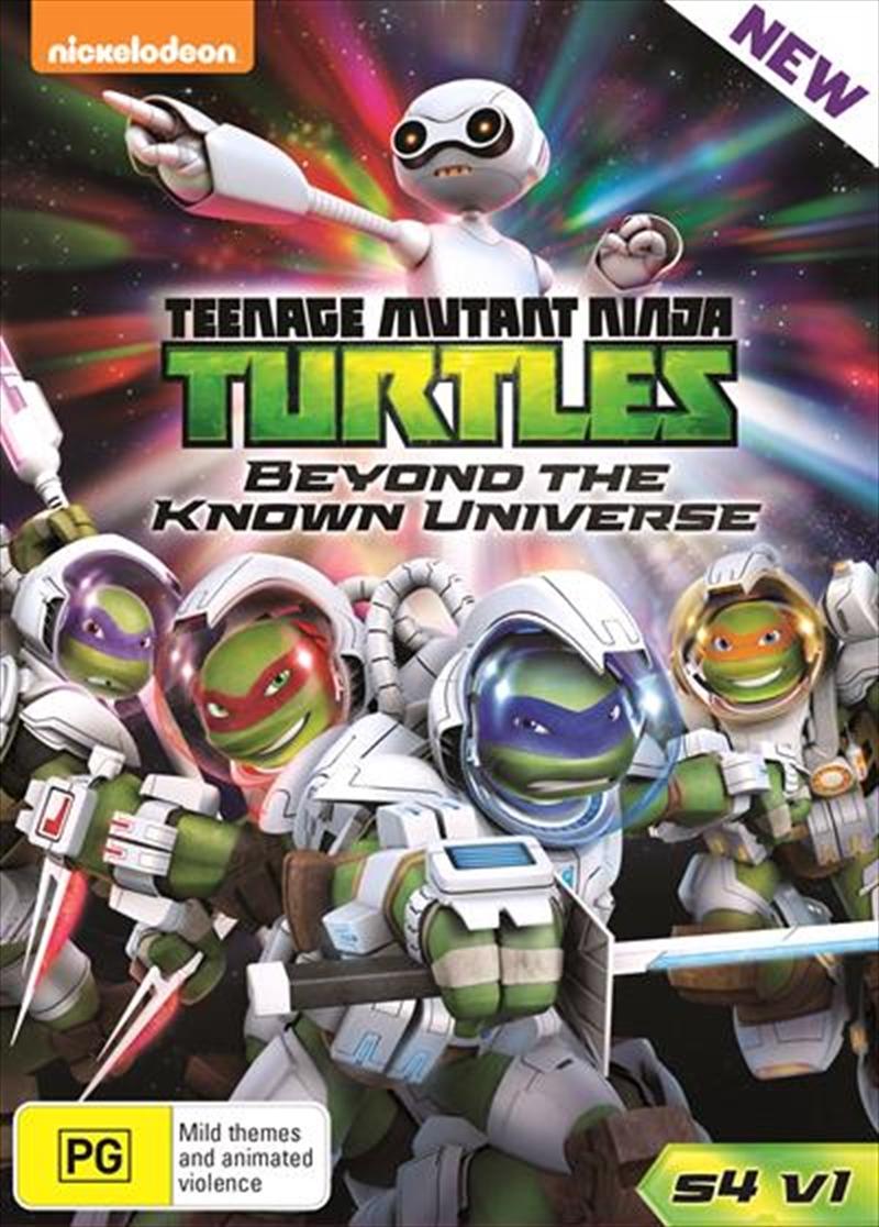 Teenage Mutant Ninja Turtles - Beyond The Known - Season 4 - Vol 1 | DVD