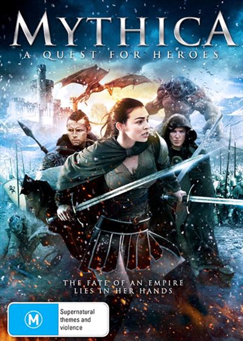 Mythica - A Quest For Heroes | DVD