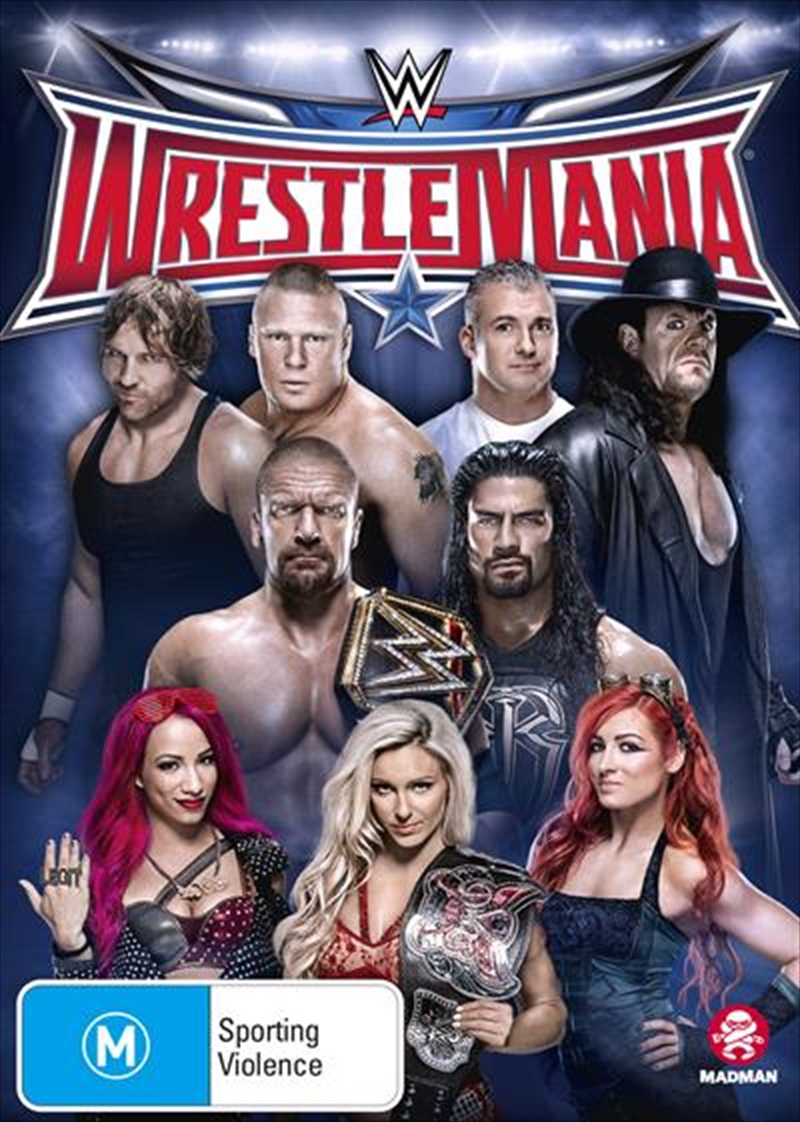 WWE - Wrestle Mania 32 | DVD