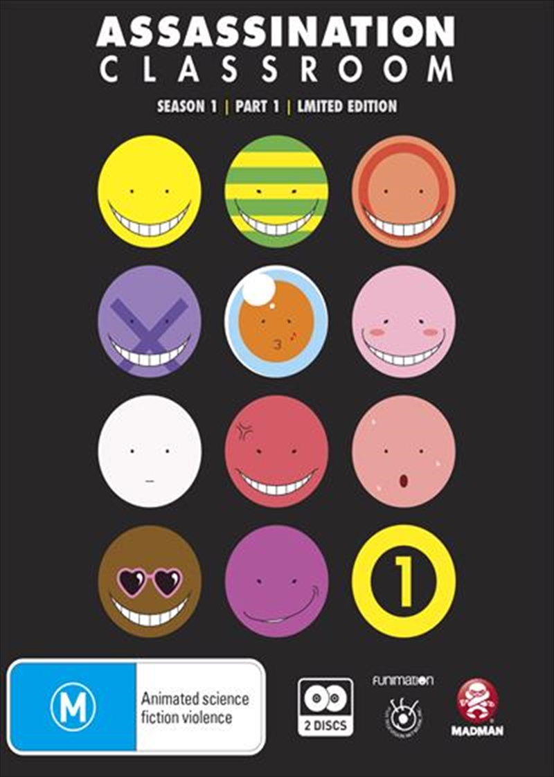 Assassination Classroom - Part 1 - Eps 1-11 - Limited Edition | Blu-ray
