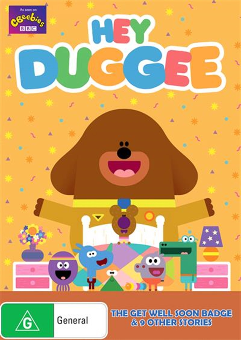 Hey Duggee - Get Well Soon | DVD