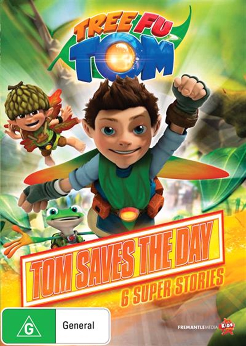 Tree Fu Tom - Tom Saves The Day | DVD