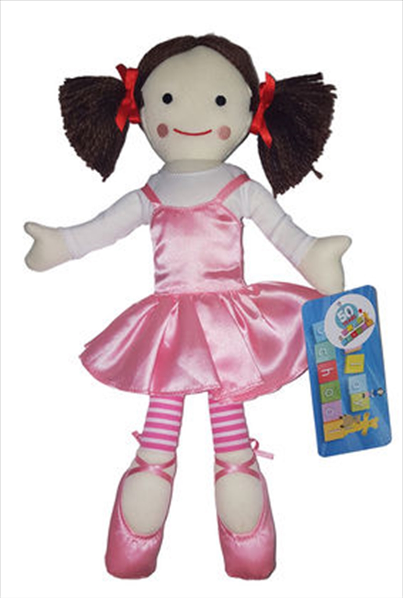 Play School - Jemima Ballerina Plush | Merchandise