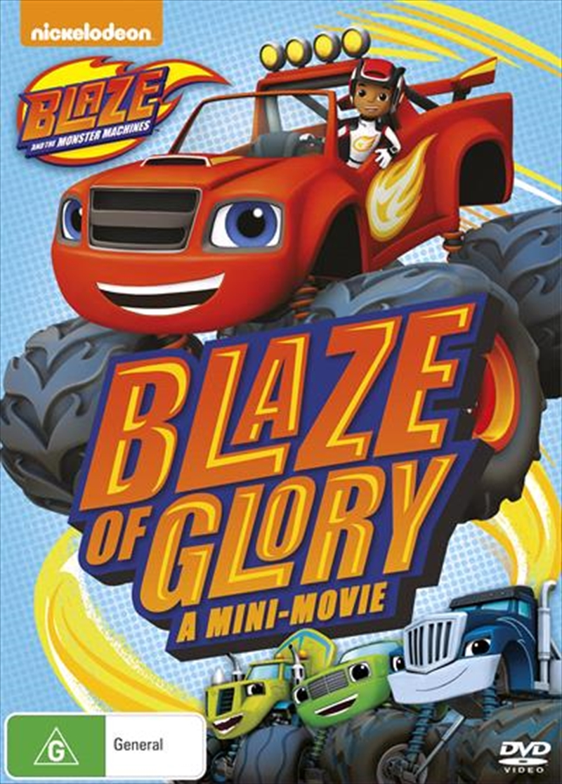 Blaze & The Monster Machines: Blaze Of Glory / The Driving Force | DVD