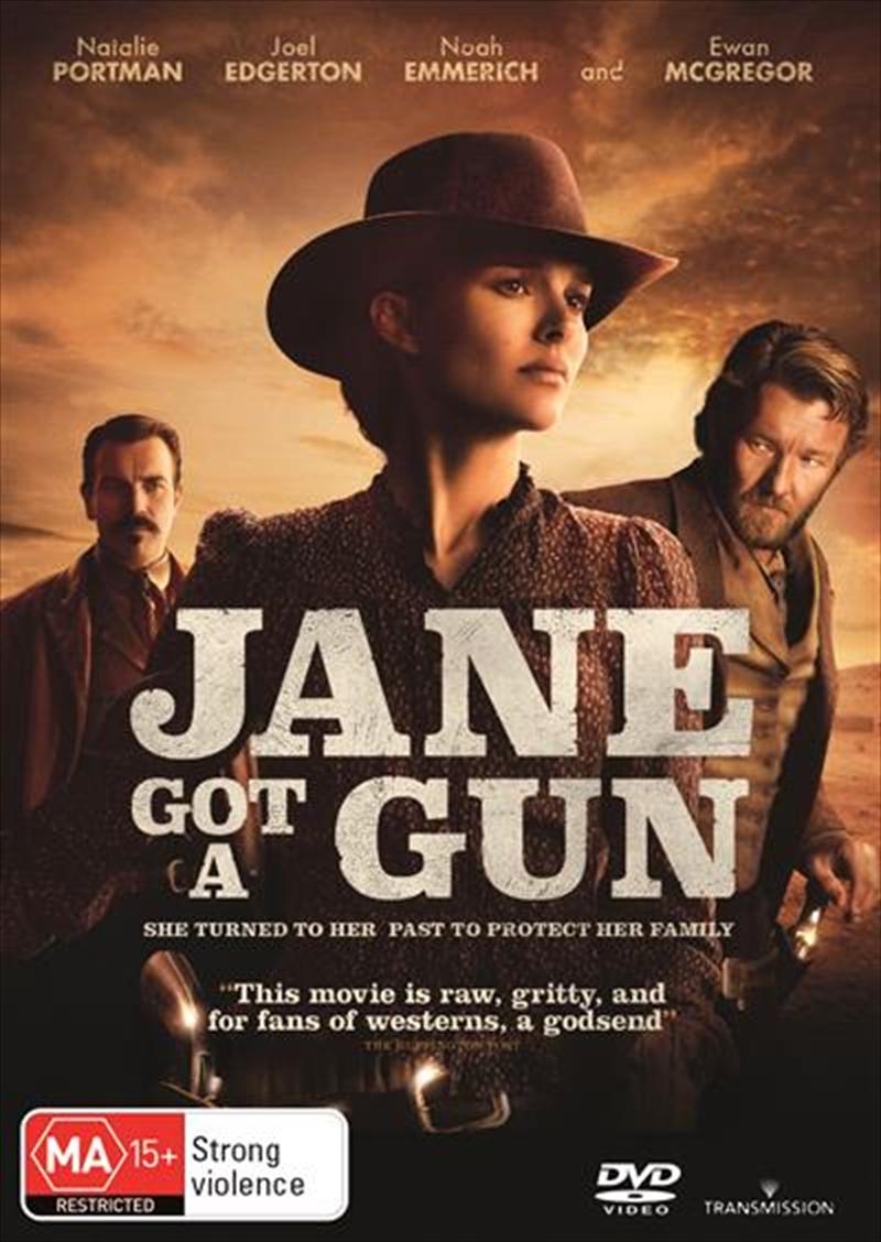 Jane Got A Gun | DVD