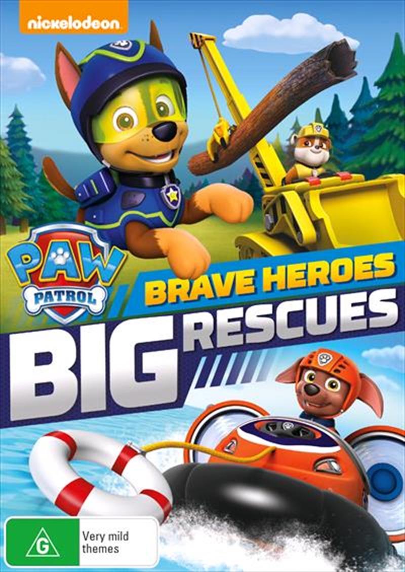 Paw Patrol - Brave Heroes, Big Rescue   DVD