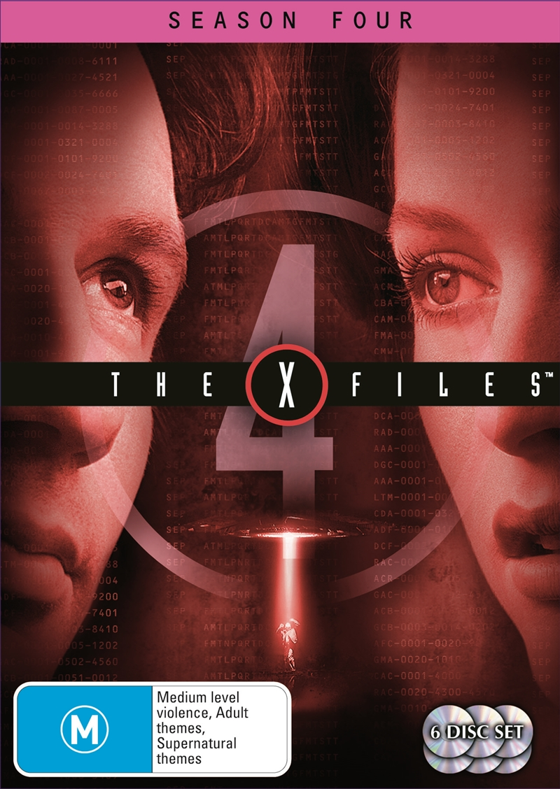 X-Files - Season 4, The   DVD