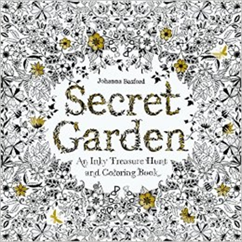 Secret Garden | Colouring Book