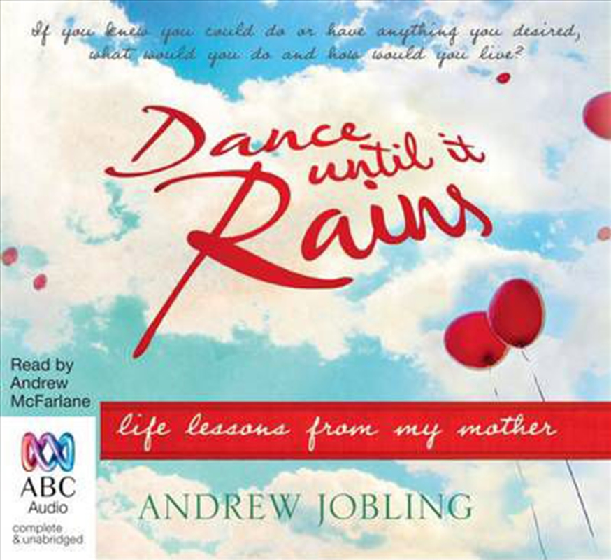 Dance Until it Rains Life Lessons From My Mother | Audio Book