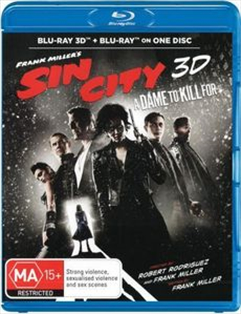 Sin City 2 - A Dame To Kill For | Blu-ray 3D