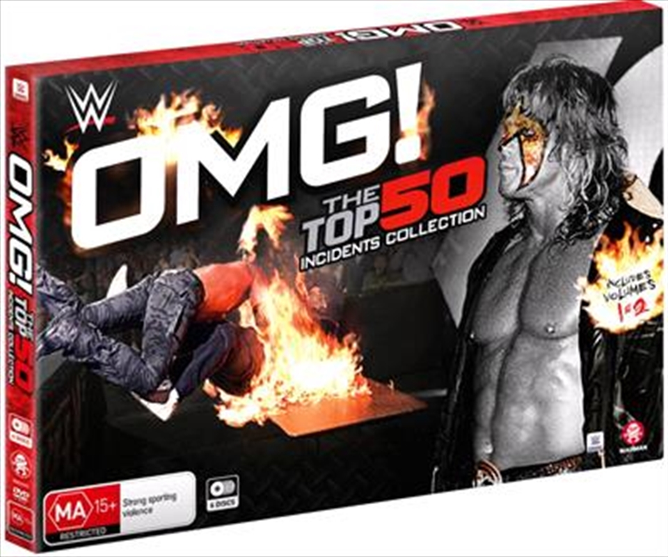 WWE - Omg! The Top 50 Incidents In WWE History Collection | DVD