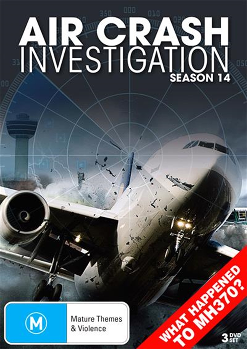 Air Crash Investigations - Season 14 | DVD