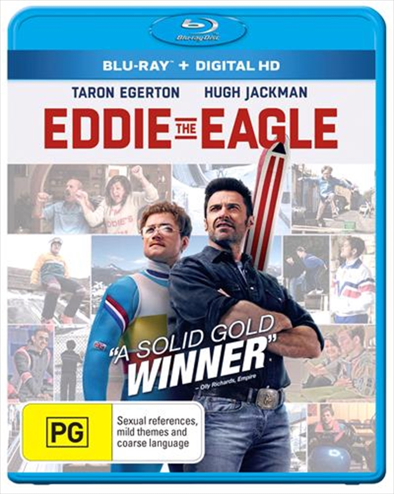 Eddie The Eagle | Blu-ray