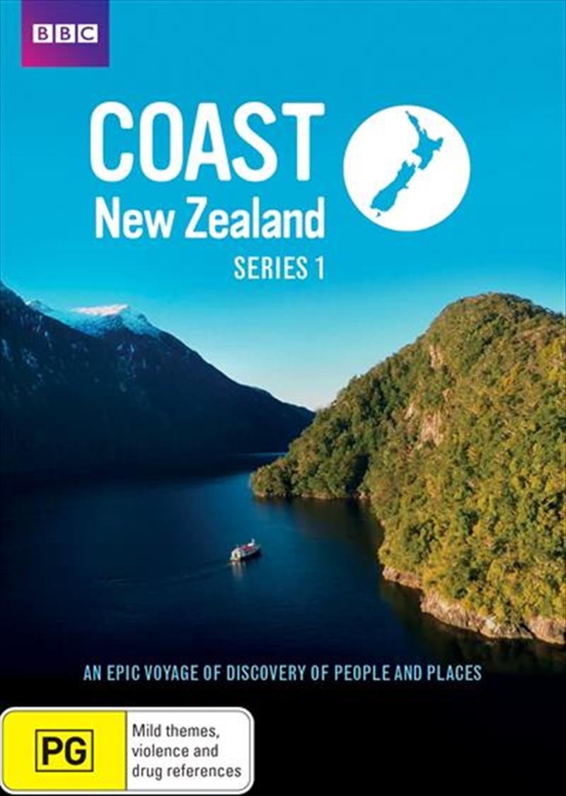Coast New Zealand - Series 1 | DVD