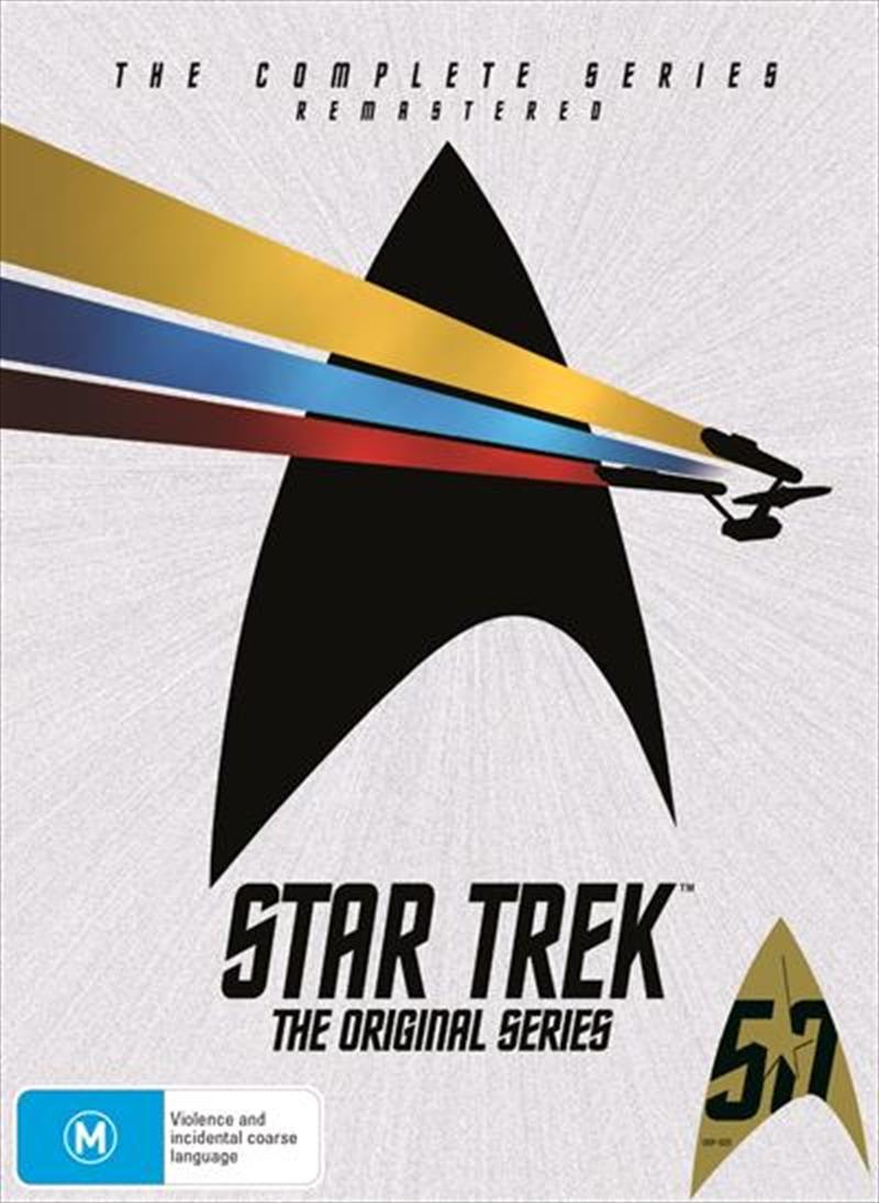Star Trek The Original Series - Season 1-3   Boxset   DVD