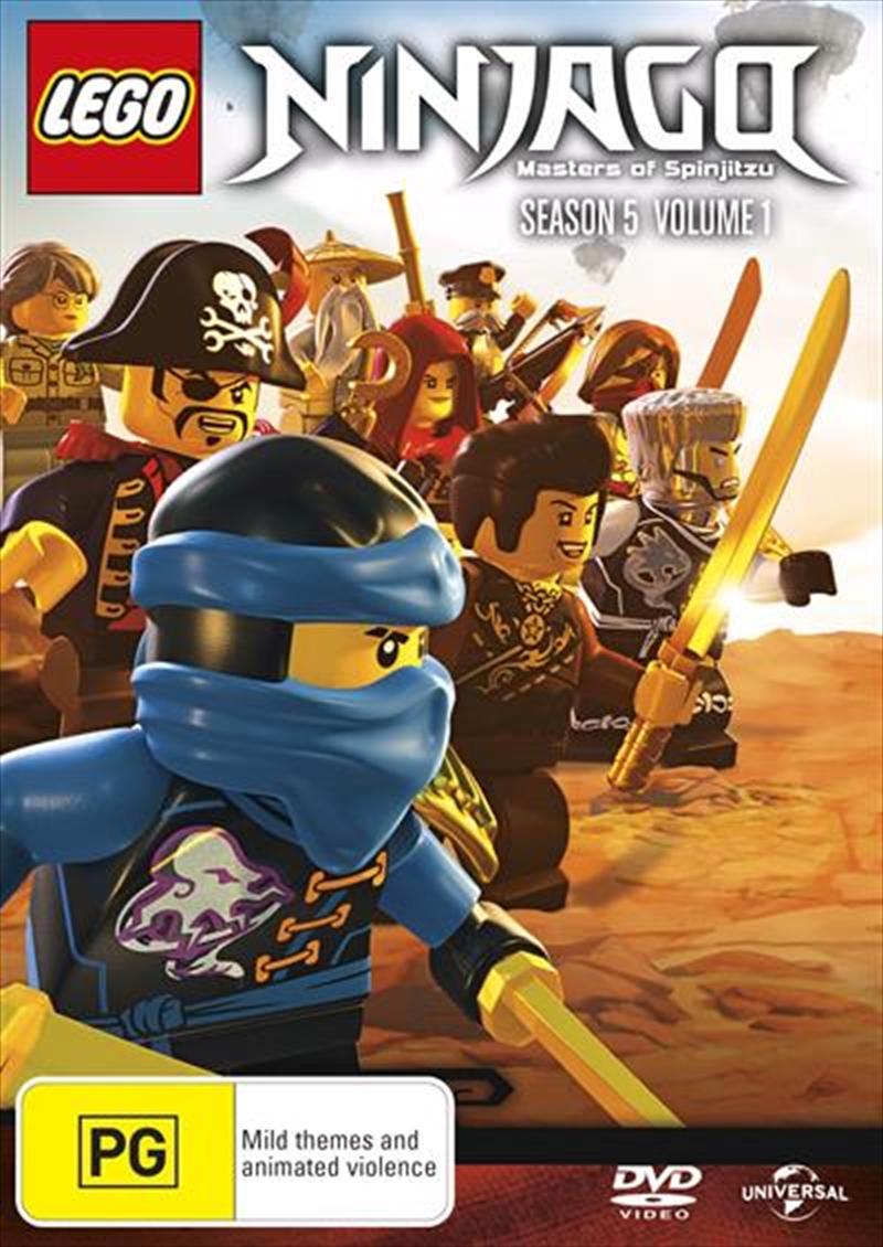 LEGO Ninjago - Masters of Spinjitzu - Series 5 - Vol 1 Animated ...