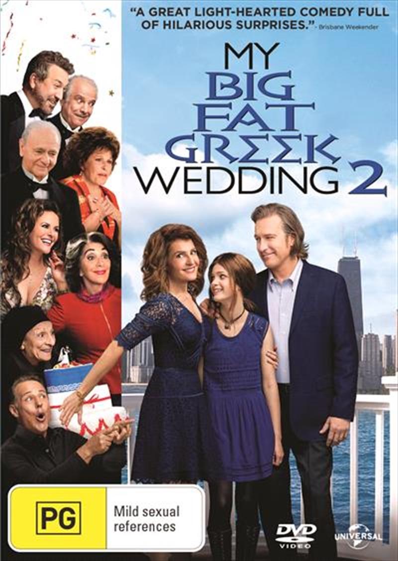 My Big Fat Greek Wedding 2 | DVD