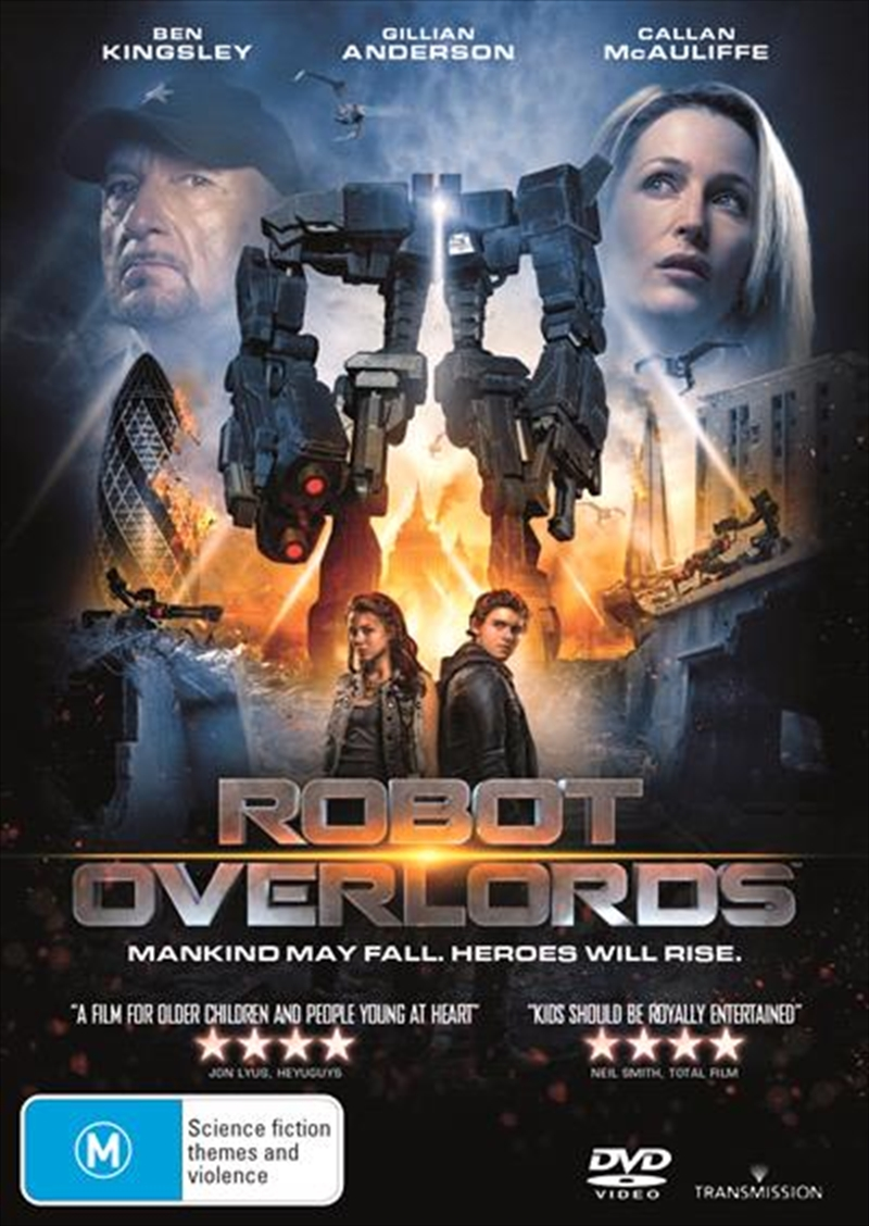 Robot Overlords | DVD