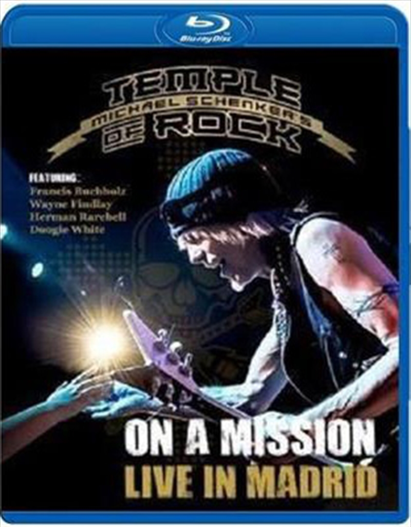 On A Mission Live In Madrid   Blu-ray