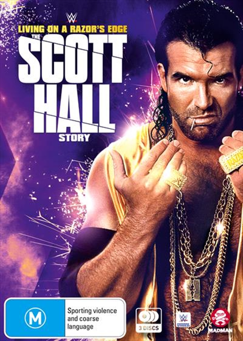 WWE - Living On A Razor's Edge - The Scott Hall Story | DVD
