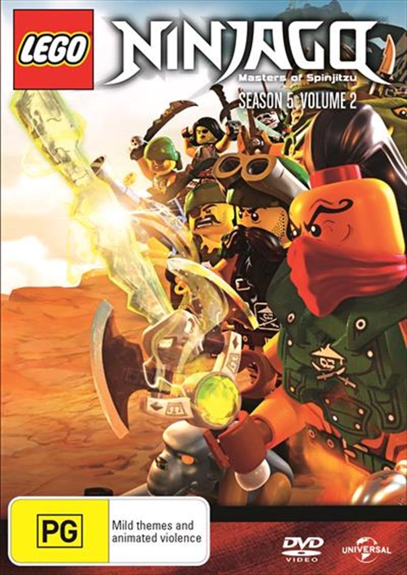 LEGO Ninjago - Masters of Spinjitzu - Series 5 - Vol 2 Animated, DVD ...
