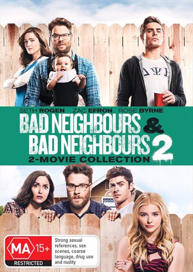 Bad Neighbours / Bad Neighbours 2 | DVD