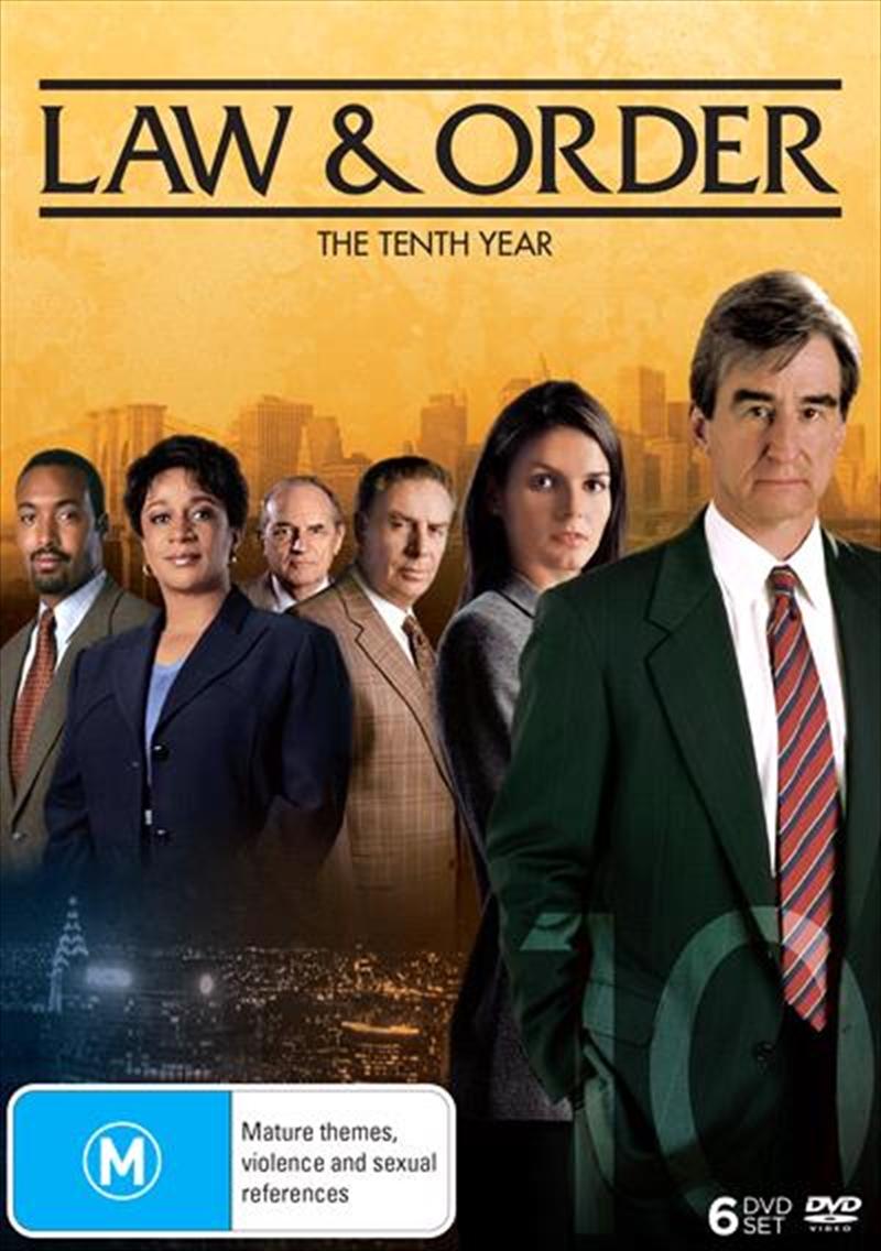 Law And Order - Season 10   DVD