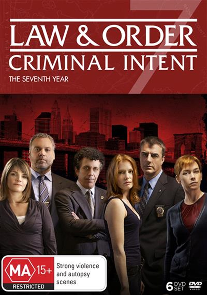 Law And Order - Criminal Intent - Season 7 | DVD