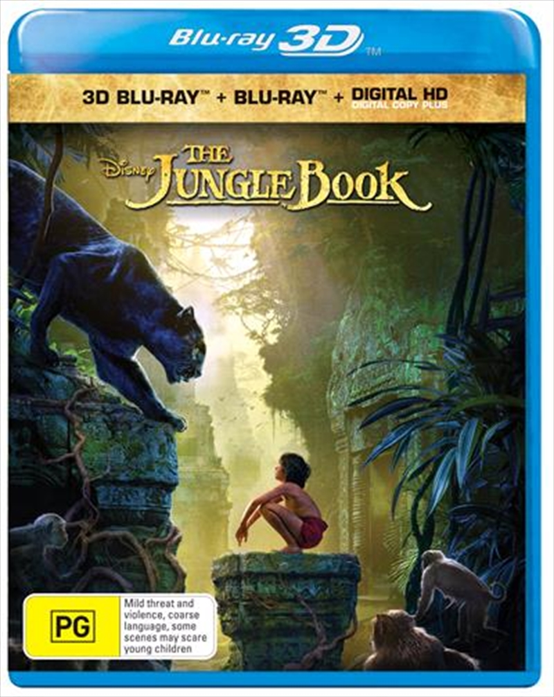 Jungle Book, The | Blu-ray 3D