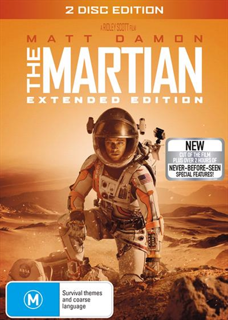 Martian - Extended Cut, The | DVD