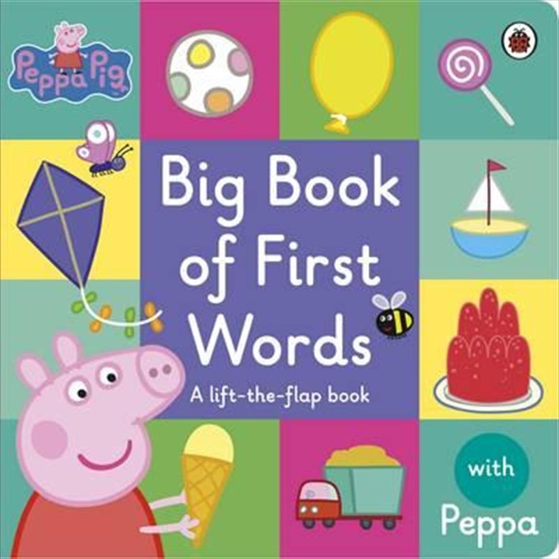 Peppa Pig: Peppas Big Book Of | Board Book