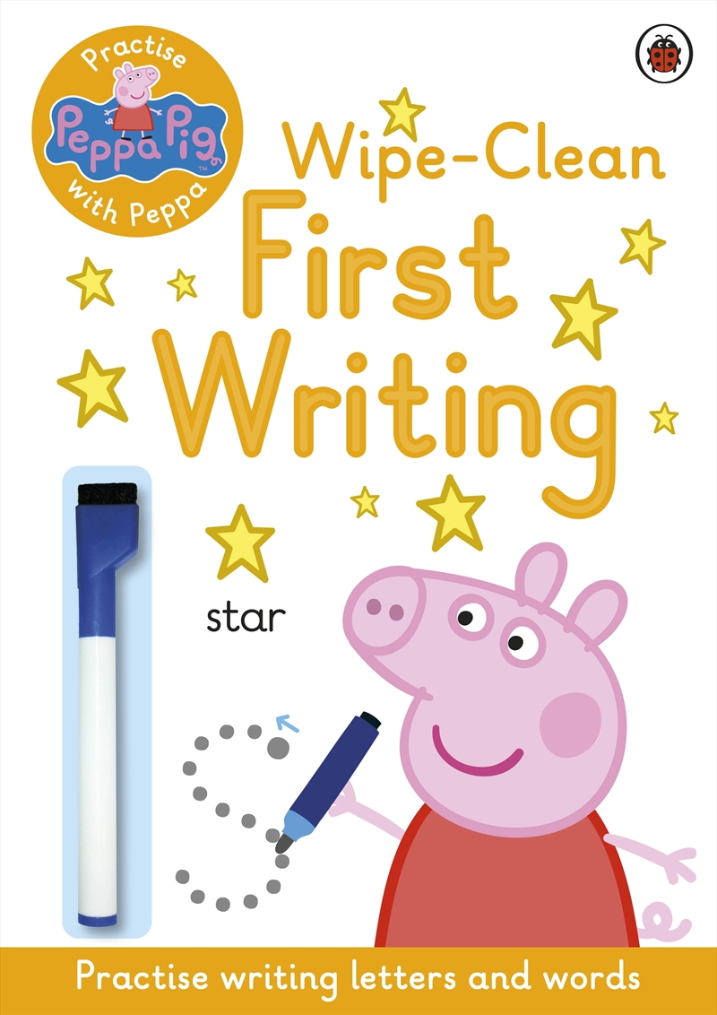 Peppa Pig: Practise with Peppa: Wipe-Clean First Writing   Paperback Book
