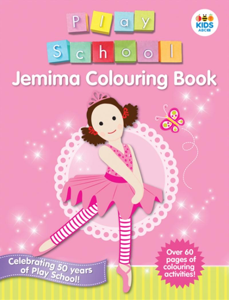 Jemima Colouring Book | Colouring Book