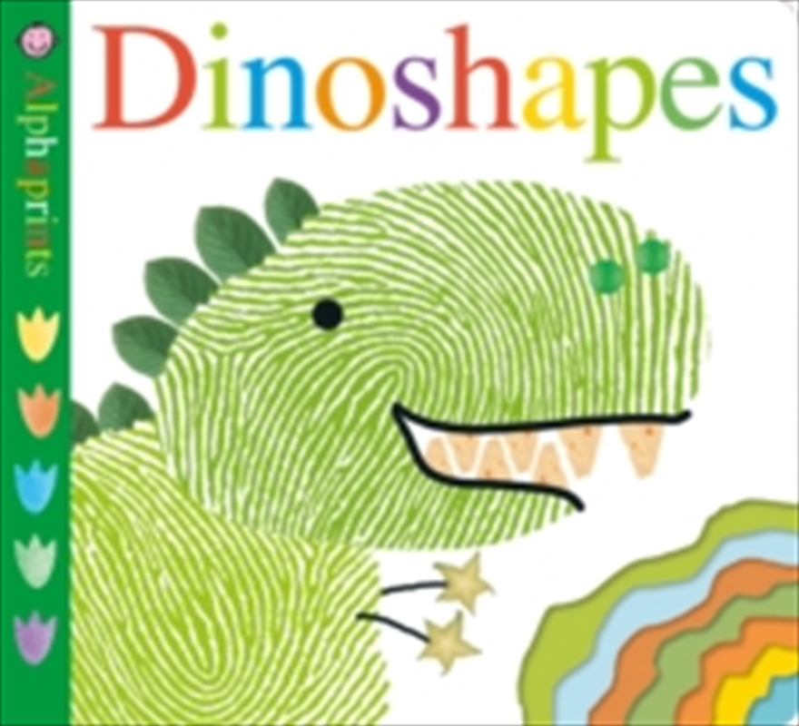 Alphaprints: Dinoshapes | Hardback Book