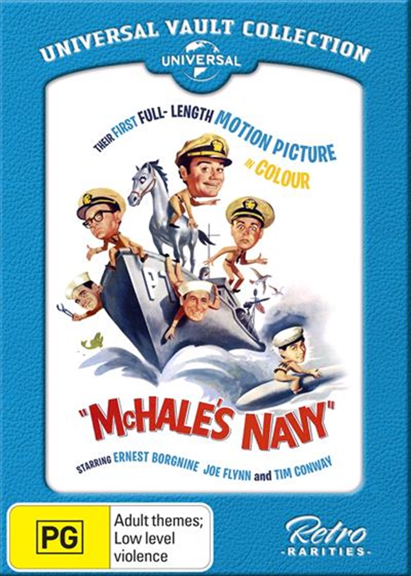 Mchale's Navy - The Movie Universal Vault Collection | DVD