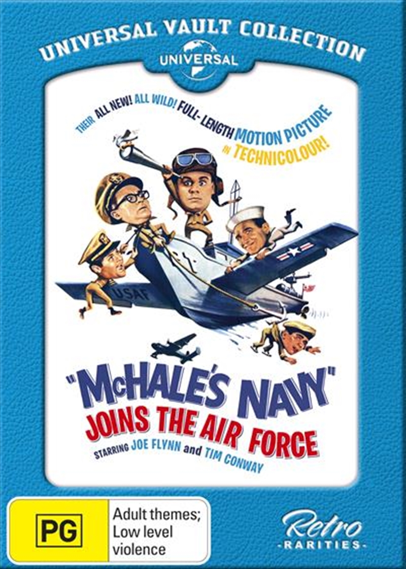 Buy Mchale S Navy Joins The Air Force On Dvd Sanity