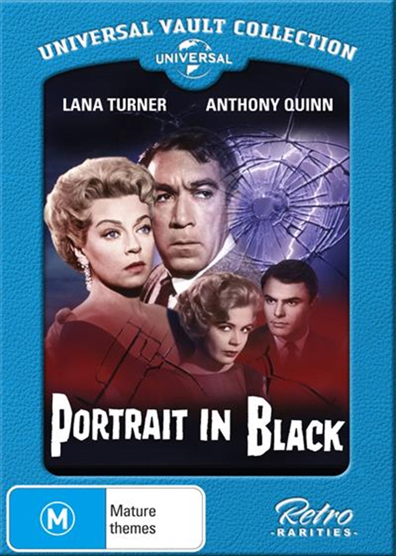 Portrait In Black Universal Vault Collection | DVD