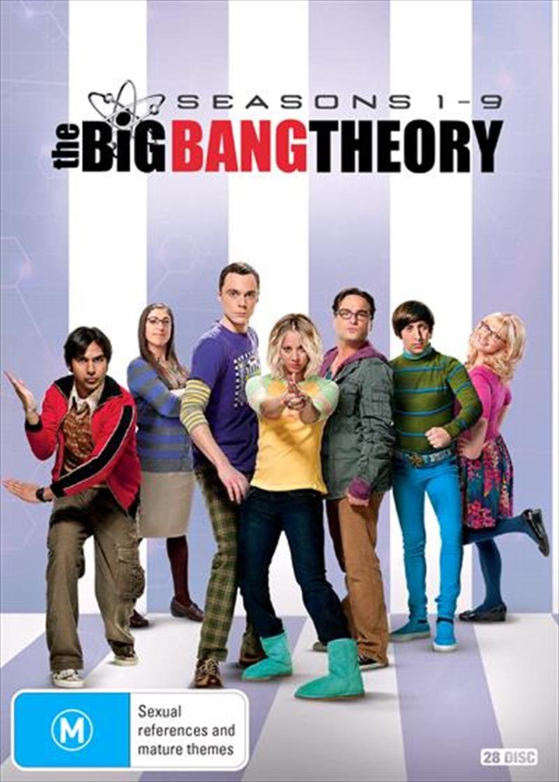 Buy Big Bang Theory Season 1 9 Boxset Sanity