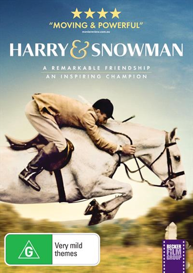 Harry and Snowman | DVD