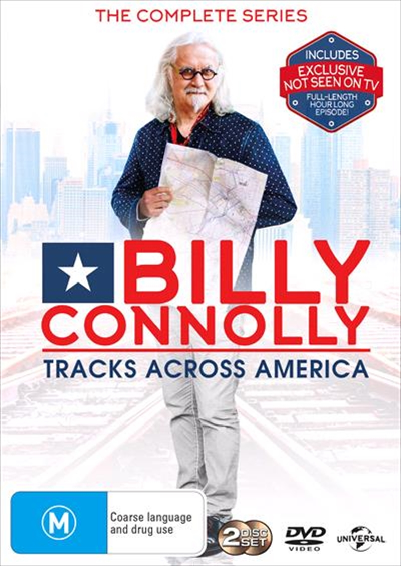 Billy Connolly's Tracks Across America | DVD